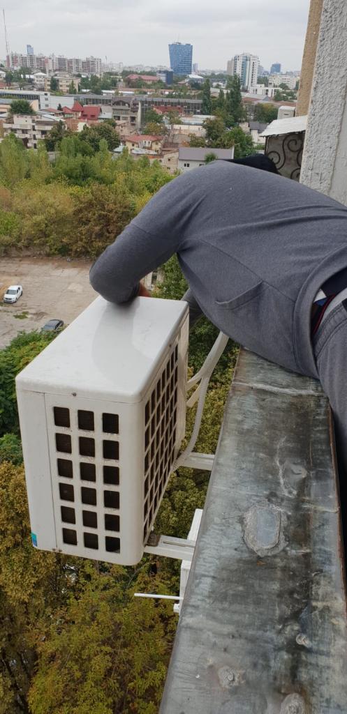 Montaj aer condiționat Diham